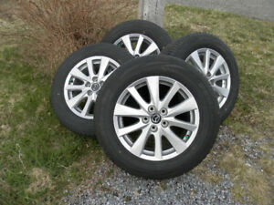 Mazda CX-5 Alloy Rims and Tires