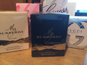 Perfumes - Guess, Gucci, Coach, My Burberry and more, Authentic!