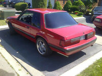 1988 mustang coupe 5.0L 5spd coupe