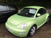 Volkswagen Beetle 1.6 2002MY RHD