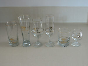 1988 Calgary Winter Olympic Collectable Glasses