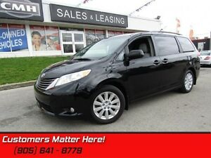 2013 Toyota Sienna XLE  AWD, XLE, LEATHER, SUNROOF, DVD, POWER S