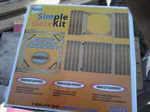 Easy to build gate kit