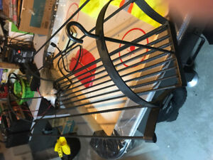 Really nice Muti pot rack wrought iron. Have all hooks /hangers