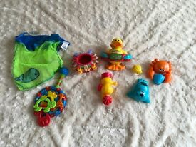 Lovely Bundle Of bath toys