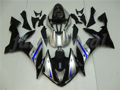 Silver Black ABS Injection Body Kit Fairing Fit for YAMAHA 2004-2006 YZF R1 d045