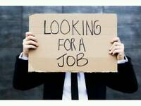LOOKING FOR CASH IN HAND WORK - AVAILABLE IMMEDIATELY