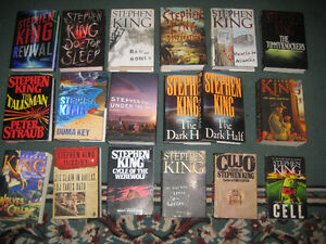STEPHEN KING HARDCOVER COLLECTION $4.00-$5.00 EACH