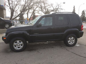2002 Jeep Liberty SE 4X4 Auto Fully Loaded Low KM ONLY $4500