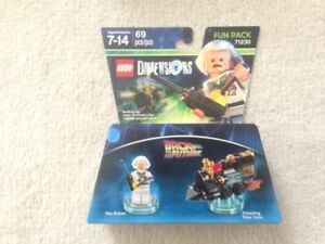 Lego Dimensions Doc Brown Fun Pack 71230 New Unopened