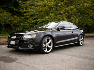 2010 AUDI A5 S LINE / RARE MANUAL TRANS / LOW KMS / ORIGINAL OWN