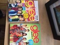 Glee seasons 1 and 2.