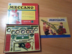 Vintage Meccano outfit no 1 Made in England
