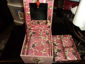 Two Vintage Jewellery Boxes
