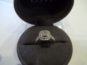 VERA WANG 1.45 CT DIAMOND RING FOR SALE(PICK UP ONLY)