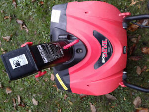 Electric snowthrower $65 obo