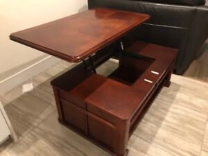 Wooden Sliding Coffee Table! $350