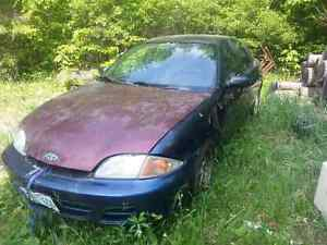 2001 chevy cavalier 4dr 5 speed
