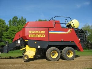 NEW HOLLAND BB960 ROTOCUT LARGE SQUARE BALER