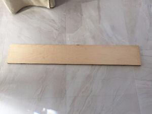 Contremarches d'escalier en plaquage de bois ( 13 unités )