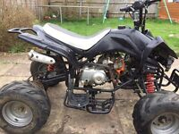 125cc Quad Bike Quadbike Interceptor Twin Light Not a Pitbike Pit bike Dirt bike Scrambler