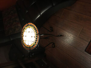 mosaic side table with light Windsor Region Ontario image 3