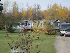Mobile Home with basement on 5.91 acres - Edson, AB