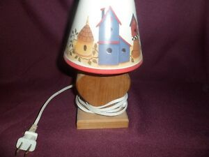 Wood Heart Shape lamp Kawartha Lakes Peterborough Area image 1