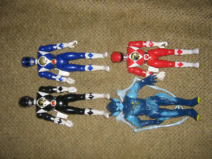 MIGHTY MORPHIN POWER RANGERS FIGURE LOT