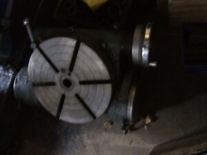 News brand 12 inch tilt rotary table