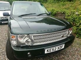 image for 2002 Land Rover Range Rover 4.4 V8 VOGUE 4dr Auto 121k miles, mot December 2021.