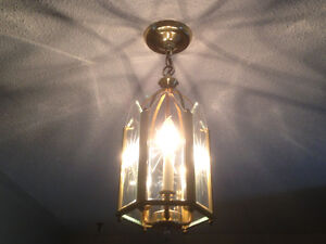 Various ceiling lights (pendant/globe) - great working condition