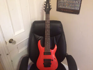 Ibanez RGA8 custom orange