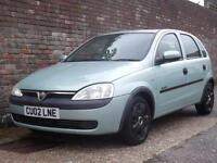 Vauxhall/Opel Corsa 1.2i 16v Comfort 2002(02) 5 Door Hatchback