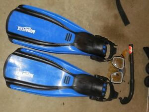 Mens scuba equipment