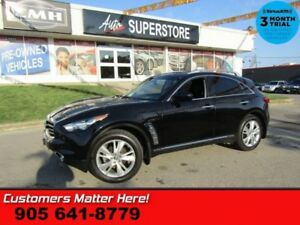 2012 INFINITI FX35 LIMITED  AWD LEATHER NAV HS CS ROOF CAM 20 WH