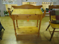 Knotty Pine Washstand 50% OFF STORE CLOSING MARCH 31st