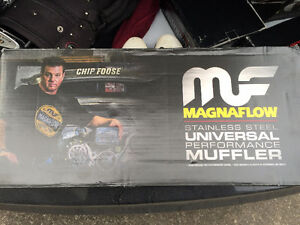 Magnaflow muffler (x2) for sale. BRAND NEW, with box.