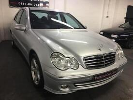 Mercedes-Benz C220 2.1TD auto 2006MY CDI Avantgarde SE,very Low Mileage,F/S/H
