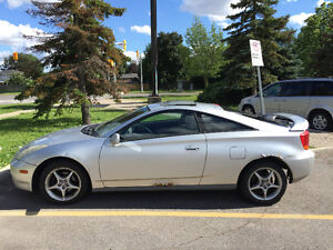 2000 Toyota Celica GTS Coupe (2 door) automatic