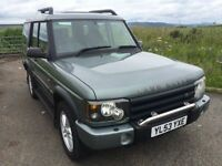 STUNNING 2004 LAND ROVER DISCOVERY TD5 XS 7 SEATER