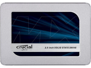 """Crucial 500GB SATA 2.5"""" Internal Solid State Drive (never used)"""