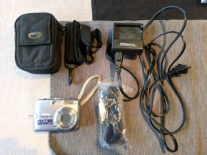 Nikon Coolpix P4 with carrying case