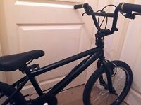 """Black BMX with 20"""" Wheels (Great Condition)"""