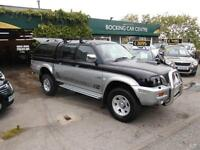 Mitsubishi L200 2-5 4X4 DIESEL DOUBLE CAB 2003 REMOVABLE TOP NO VATM