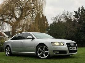 Audi A8 3.0TDI SPORT QUATTRO LWB (silver) 2008
