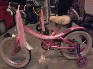 16inch Girl Cream Soda Bike
