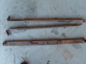 Massey Ferguson 35 sway bars and top link