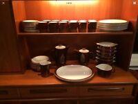 Retro Poole Pottery Dinner Service Set 50 pieces