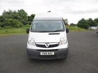 2010 Vauxhall Vivaro 2.0CDTI ( 115ps ) ( Euro IV ) 2900 SWB HIGH ROOF, 1 OWNER